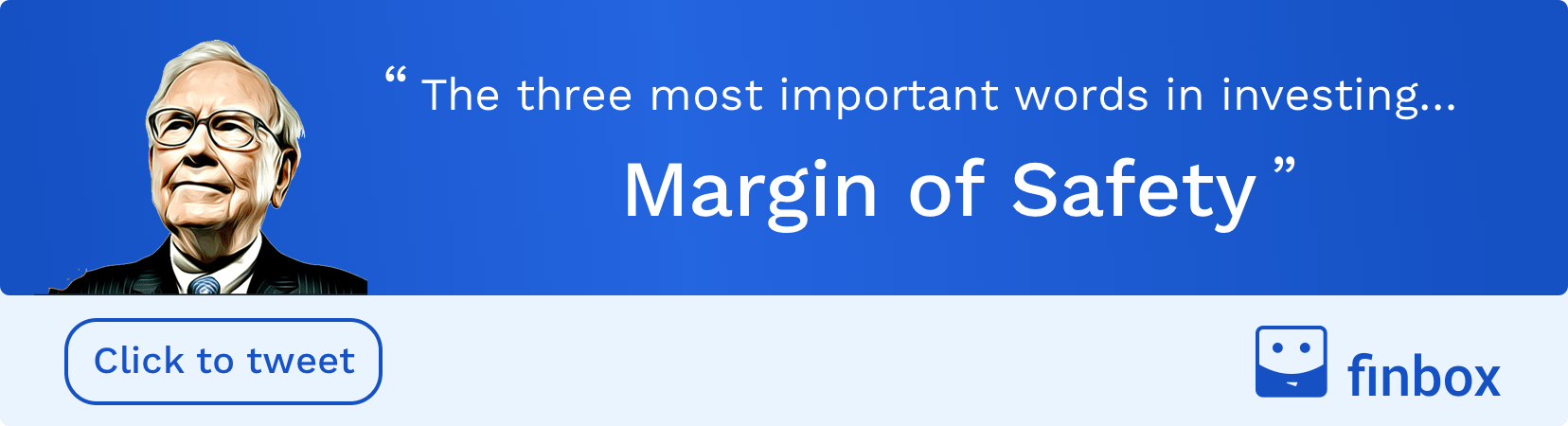 Warren Buffett Margin of Safety Quote - finbox.com